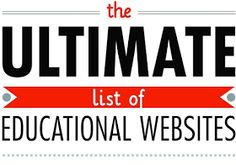 Educational Technology and Mobile Learning: The Ultimate List of Educational Websites