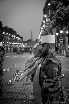 [EN] French Foreign Legion - Rehearsals, July 14th, 2013 - 5 am in the morning. [ES] Legión Extranjera francesa - Ensayos del 14 de julio de 2013 - A las 5 de la mañana [FR] Légion Étrangère Française - Répétitions du 14 Juillet 2013 - 5 heures du matin
