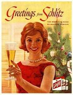 1960 Schlitz ad
