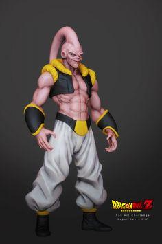 Majin Buu - Dragonball Z in Zbrush