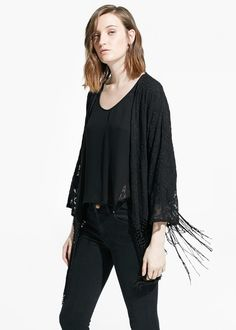 Floral embroidery kimono -  Woman | OUTLET Norway