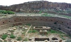 Chaco Canyon, New Mexico  central to thousands of people between 850 and 1250 A.D.