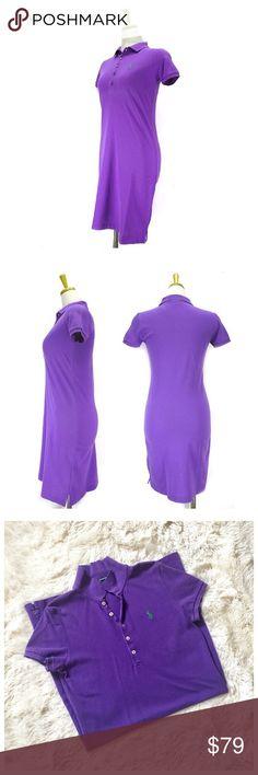 Ralph Lauren Classic Polo Dress Work once! 100% cotton and very comfortable! Ralph Lauren Sport Dresses Midi