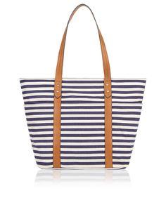 VIDA Foldaway Tote - Sapphire Stylish Hand Bag by VIDA CHfdMhbeXk