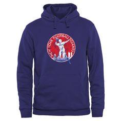 Mens New York Giants Antigua Royal Blue Delta Quarter Zip Pullover Jacket