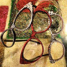 b43876734900 Love Marnie EyeCandy Swarovski adorned glasses by by lovemarnie. Lynda Ivey  · Fashionista · Miu ...