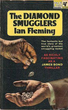 Ian Fleming: The diamond smugglers.  Pan Books 1965.  Cover art by David Tayler.  Interesting, distinctive signature