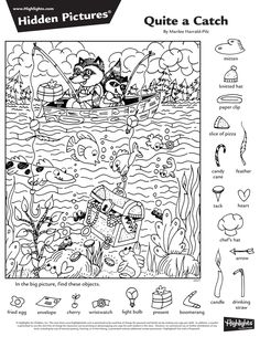 2015년 7월 숨은그림찾기, 어린이 숨은그림찾기, Hidden Pictures : 네이버 블로그 Colouring Pages, Coloring Sheets, Coloring Books, English Activities, Fun Activities, Teaching Kids, Kids Learning, Highlights Hidden Pictures, Hidden Pictures Printables