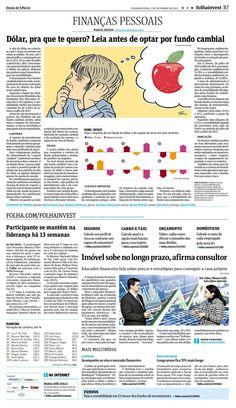 Leia antes de optar por fundo cambial -- Folha de S.Paulo - Edição de 02/09/2013