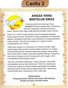 Bahasa Melayu Tahun Satu: Marilah membaca cerita-cerita pendek Preschool Writing, Preschool Printables, Preschool Worksheets, Preschool Activities, Kindergarten Assessment, Kindergarten Lessons, Kindergarten Reading, Kids Story Books, Stories For Kids