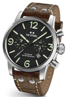 TW Steel MS14 Maverick chronograph watch 48 mm