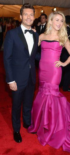 Ryan Seacrest wearing Burberry tailoring at the #MetGala last night in New York