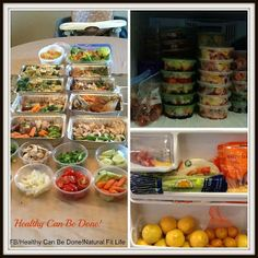 Healthy Can Be Done! Natural Fit Life! How to eat healthy when you are too busy. The benefits of food prepping.