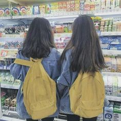Shared by SANGNEW. Find images and videos about girl, friends and ulzzang on We Heart It - the app to get lost in what you love. Mode Ulzzang, Ulzzang Korean Girl, Cute Korean Girl, Ulzzang Couple, Asian Girl, Korean Best Friends, Mode Kawaii, Girl Friendship, Girl Couple