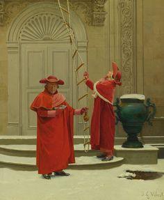 Jean-Georges Vibert (París, Francia / France, 1840 - 1902)
