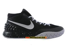 huge selection of 2939b 34207 Officiel Nike Kyrie 1 iD Chaussures Nike Basket-ball Pas Cher Pour Homme  Noir - Blanc 705277-001