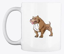 This Pitbull coffee mug design is perfect for dog and coffee lovers. As a Pitbull lover, you'll be proud to be seen enjoying your coffee from this mug. It's also available in other colors, and it is the perfect gift for your dog friends or family members. Coffee Lovers, Coffee Mugs, Unique Image, Mug Designs, Dog Friends, Your Dog, Pitbulls, Just For You, Colors