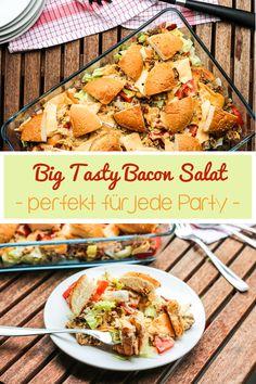 Big Tasty Bacon, Chicken N Dumplings, Food Collage, Burger Co, Mouth Watering Food, International Recipes, Creative Food, Pot Roast, Delish