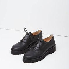 a7f865889c785 MM6   Chunky Oxford idée fixe la garçonne Chaussure, Maison De Martin  Margiela, Oxford