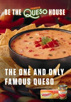 How to make a game changing dip? The One and Only Famous Queso has got you covered with the cheesy goodness of VELVEETA and RO*TEL's blend of flavor and spice. Get the full recipe at www.quesoforall.com