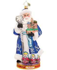 Christopher Radko From Russia With Love Ornament