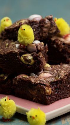How to make brownies epic?! Add mini eggs!