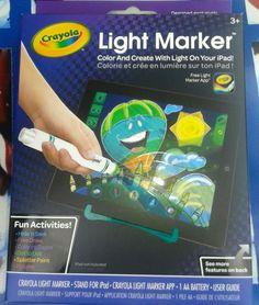 Crayola iPAD Light Marker Art Effects APP Brand New Griffin #GRIFFINCRAYOLA