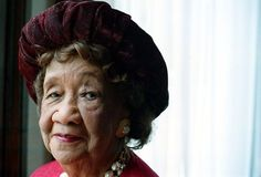 """""""Dr. Height was regarded by President Barack Obama as """"the godmother of the Civil Rights Movement."""" She served as the president of the National Council of Negro Women for over two decades and was instrumental in the integration of all YWCA centers in 1946."""""""