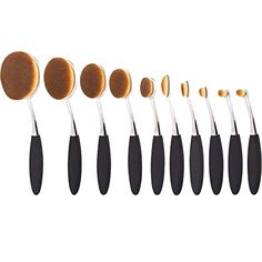 Summifit 10 Pcs Soft Oval Brush Set Foundation Eyeliner Blush Contour Cream Powder Professional Makeup Brushes Set Cosmetics Tool (Black Silver)  BUY NOW     $49.99     Summifit-Fit Your Beauty Summit     Feature   Material for hair:premium synthetic fiber  Material for handle:plastics    Sp ..  http://www.beautyandluxuryforu.top/2017/03/19/summifit-10-pcs-soft-oval-brush-set-foundation-eyeliner-blush-contour-cream-powder-professional-makeup-brushes-set-cosmetics-tool-black-silver/