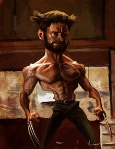 The Wolverine by DevonneAmos on deviantART
