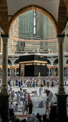 «Perform Umrah and Hajj together, for this removes poverty and sins just like the bellows remove the impurities from iron, gold and silver Muslim Images, Islamic Images, Islamic Pictures, Mecca Madinah, Mecca Masjid, Masjid Al Haram, Mecca Wallpaper, Islamic Wallpaper, Beautiful Mosques