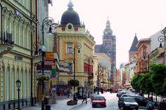 Slovakia. Mlynska skyline