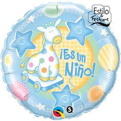 Balão Maternidade É um Menino | Balão para menino | Balão chá de bebe