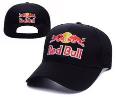 Red Bulls Adjustable Hat Balck