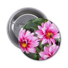 Macro Flower Button