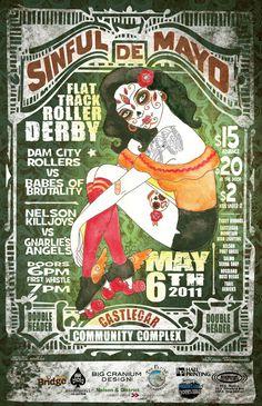 Derby poster design