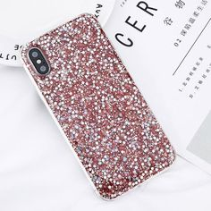 58dc12e73531 Bling Powder Case For iPhone X Glitter Wave Point Soft Silicon TPU Phone  Cases Back Cover Coque For iPhoneX 8 7 6 6s Plus