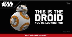 Star Wars BB-9E by Sphero  Meet the dark side's new droid: BB-9E