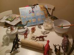 #dinovember Baking Dino cookies