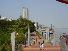 The port of Guayaquil