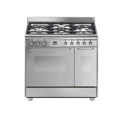 Piano de cuisson Mistergooddeal, achat Piano de cuisson SMEG GM93X9 prix promo Mistergooddeal 851.53 € au lieu de 1 939.00 €