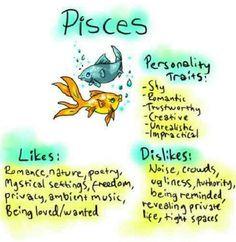 Pisces: #Pisces the Fish.