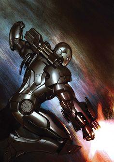 War Machine by Adi Granov