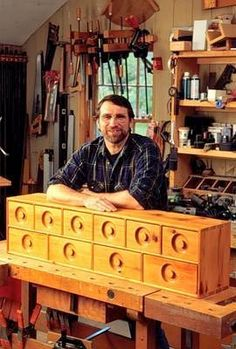 Reed's Woodshop - Shop Tours - Fine Woodworking | spaces2create | Pinterest | Fine woodworking ...