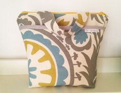 Outer Pocket Summerland shapes Insulated Lunch Bag by LilTotWonder, $40.00