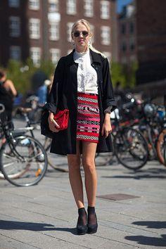 Street Style Copenhagen Fashion Week Spring 2014 - Copenhagen Street Style