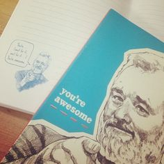 """""""You're awesome"""" Billy Murray notebook"""