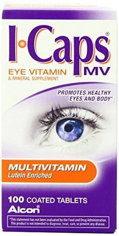 lcon ICaps Multivitamin Eye Vitamin  Mineral  Coated Tablets  100 tablets Pack of 4  lconfkgh ** Be sure to check out this awesome product.