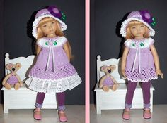 Outfit EFFNER LITTLE DARLING DOLL 13 ""