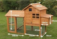 Building A DIY Chicken Coop If you've never had a flock of chickens and are considering it, then you might actually enjoy the process. It can be a lot of fun to raise chickens but good planning ahead of building your chicken coop w Chicken Coop Designs, Chicken Coop Kit, Small Chicken Coops, Chicken Barn, Portable Chicken Coop, Chicken Coup, Best Chicken Coop, Backyard Chicken Coops, Building A Chicken Coop